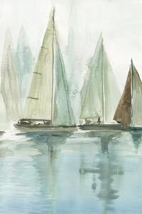Blue Sailboats II by Allison Pearce