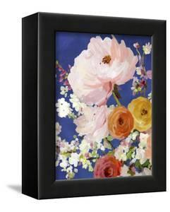 Midnight Garden Flowers I by Allison Pearce