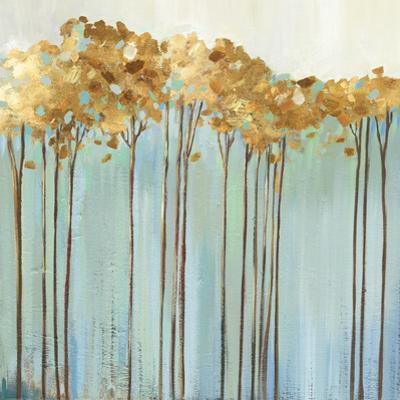 Teal Trees I