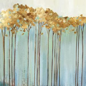 Teal Trees I by Allison Pearce