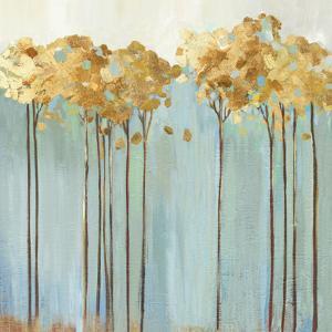 Teal Trees II by Allison Pearce
