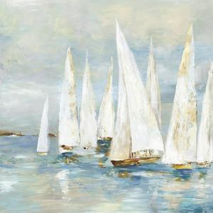 White Sailboats by Allison Pearce