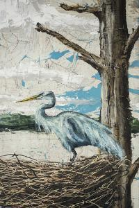Midway Heron I by Allison Wickey