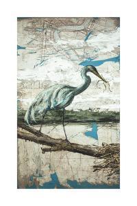 Midway Heron II by Allison Wickey