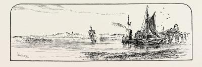 Alloa Pier, UK--Giclee Print
