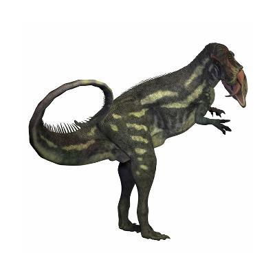 Allosaurus Dinosaur-Stocktrek Images-Art Print