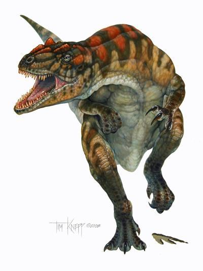 Allosaurus-Tim Knepp-Giclee Print