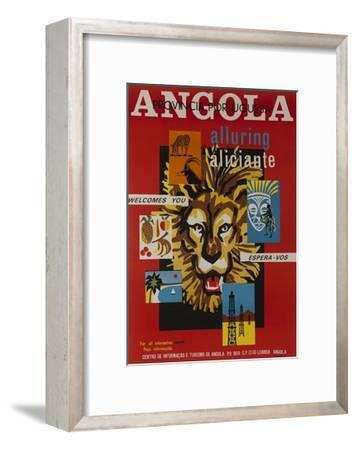 Alluring Angola Welcomes You, Tourism Office Travel Poster