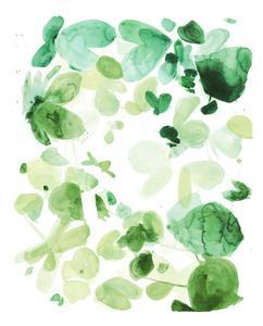 Butterfly Dance in Green C by Allyson Fukushima