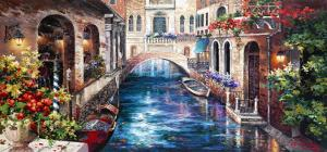 Venice Bridge by Alma Lee