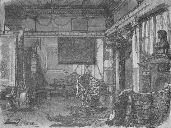 'Alma Tadema's Former Studio', 1890-William Hatherell-Giclee Print