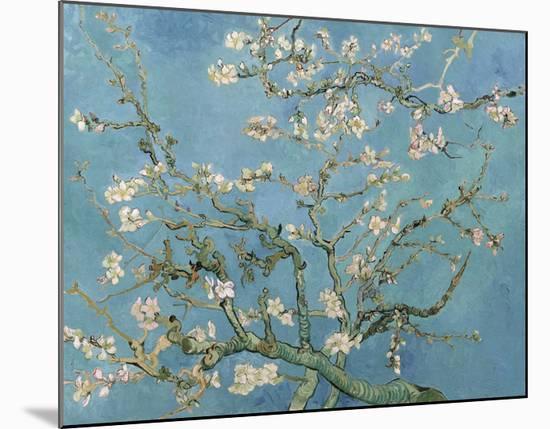 Almond Blossom, 1890-Vincent van Gogh-Mounted Art Print