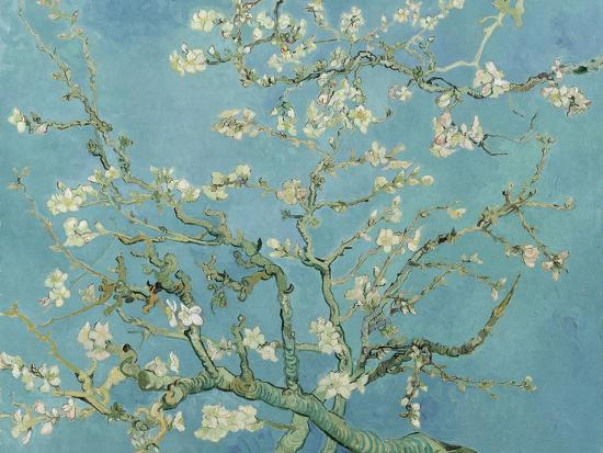 Almond Blossom, 1890-Vincent van Gogh-Giclee Print