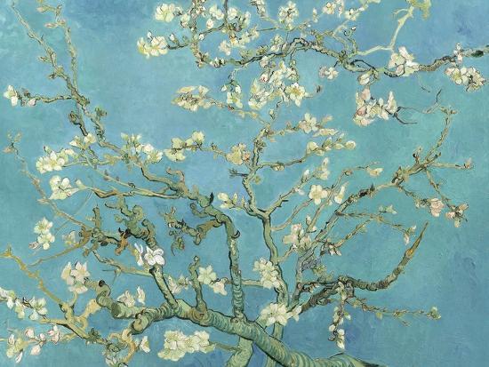 Almond Blossoms, 1890-Vincent van Gogh-Art Print