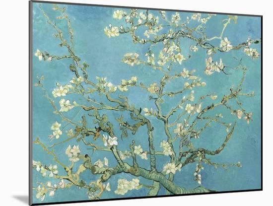 Almond Blossoms, 1890-Vincent van Gogh-Mounted Art Print