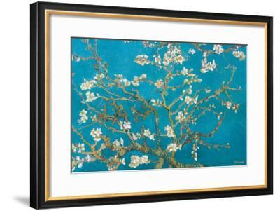 Almond Branches in Bloom, San Remy, c.1890-Vincent van Gogh-Framed Premium Giclee Print