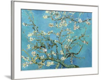 Almond Branches in Bloom, San Remy, c.1890-Vincent van Gogh-Framed Art Print