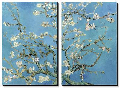 Almond Branches in Bloom, San Remy, c.1890-Vincent van Gogh-Canvas Art Set