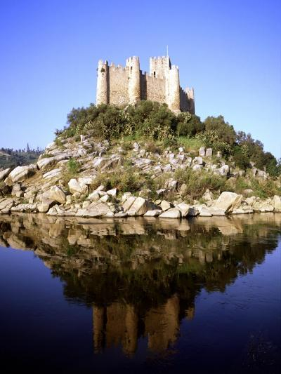 Almourol Castle (Photo)--Giclee Print