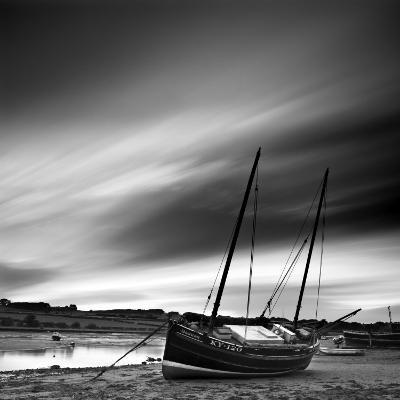 Aln Estuary at Low Tide, Alnmouth, Alnwick, Northumberland, England, UK-Lee Frost-Photographic Print