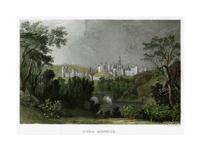Alnwick Castle, Northumberland, 18th-19th Century-L Kunstvortag-Giclee Print