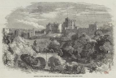 Alnwick Castle, the Seat of the Duke of Northumberland--Giclee Print