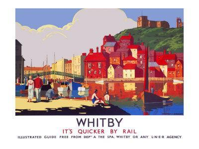 Whitby: Its Quicker by Rail