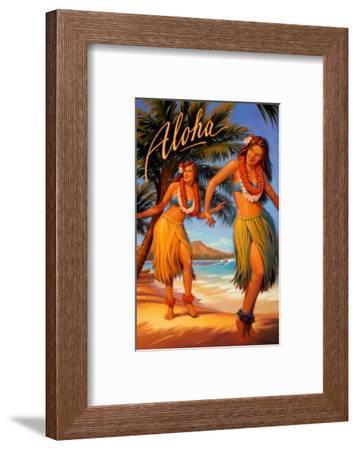 Aloha, Hawaii-Kerne Erickson-Framed Art Print