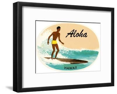 Aloha, Native Surfer