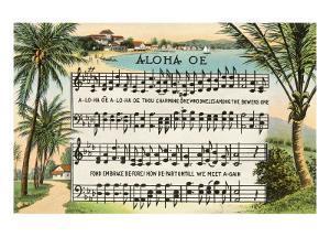 Aloha Oe Music, Lyrics