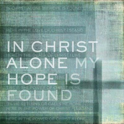 Alone My Hope-Dallas Drotz-Art Print