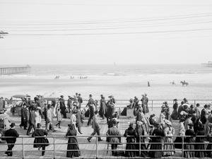 Along the Beach, Atlantic City, N.J.