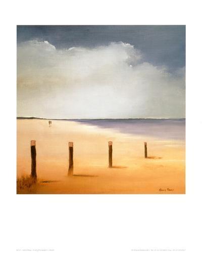 Along the Beach I-Hans Paus-Art Print