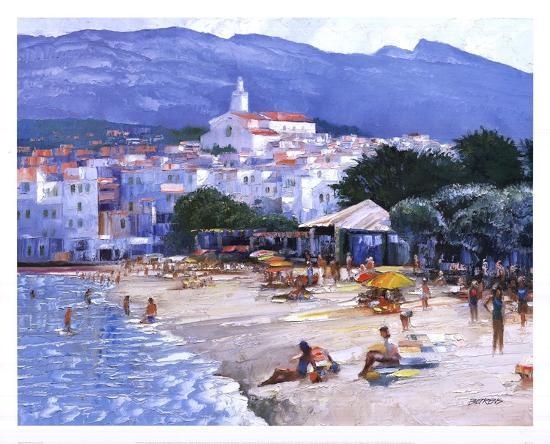Along The Costa Brava-Howard Behrens-Art Print