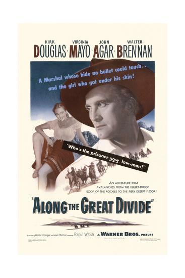 Along the Great Divide--Art Print