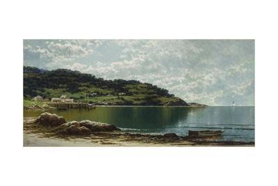 Along the Maine Coast, c.1885-Alfred Thompson Bricher-Giclee Print