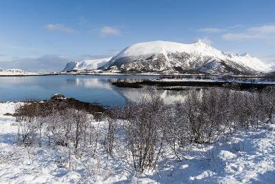 Along the National Tourist Road, Lofoten Islands, Arctic, Norway, Scandinavia-Sergio Pitamitz-Photographic Print