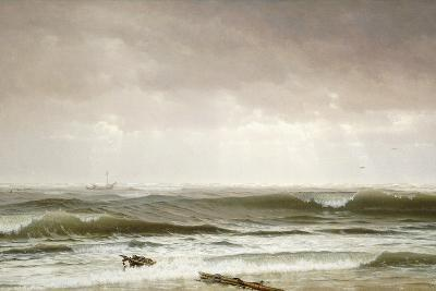 Along the Shore, 1870-William Trost Richards-Giclee Print