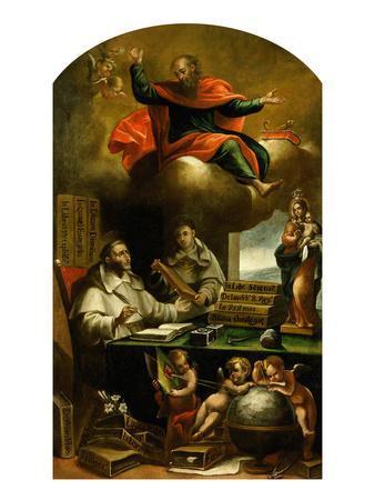 Apparition of Saint Paul to Saint Albert the Great and Saint Thomas Aquinas