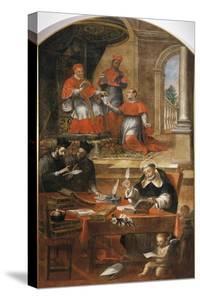 St Raymond of Penafort, Advisor to Pope Gregory IX by Alonso Antonio Villamor