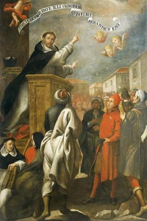 St Vincent Ferrer Preaching to the Young People of Salamanca