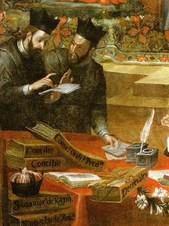 Two Jesuits in Discussion, from Saint Raymond of Penafort, Counsellor to Pope Gregory IX