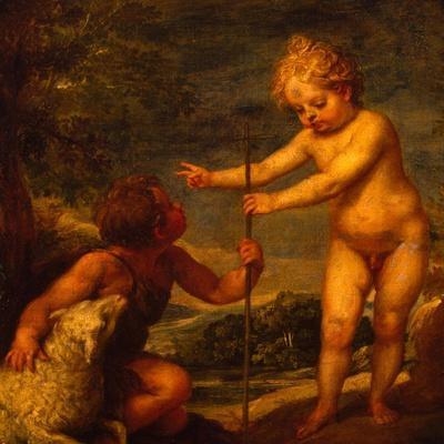 Christ and John the Baptist as Children, Ca 1665