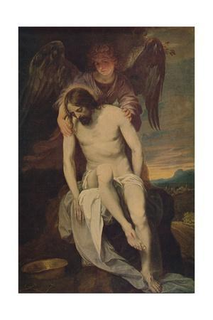 'Cristo Llorado Por Un Angel', (Dead Christ she Supported by an Angel)', 1646-1652, (c1934)
