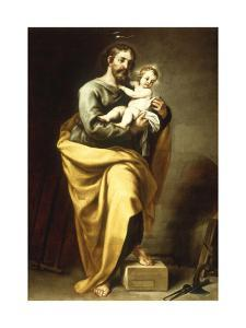 St Joseph with the Infant Christ by Alonso Cano
