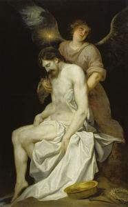 The Dead Christ Supported by an Angel, 1646-52 by Alonso Cano