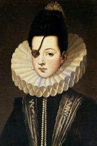 Ana De Mendoza, Princess of Eboli, 16th Century, Spanish Renaissance by Alonso Sanchez Coello