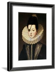 Ana De Mendoza, Princess of Eboli, 16th Century, Spanish Renaissance by Alonso Sanchez Coello