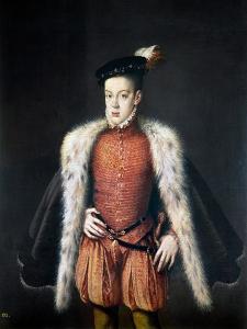 Carlos, Prince Of Asturias by Alonso Sanchez Coello