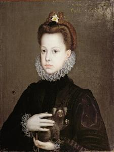 Infanta Isabella Clara Eugenia, Daughter of Philip II of Spain by Alonso Sanchez Coello